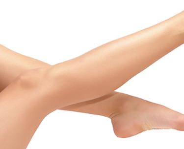 Capillary veins on the legs
